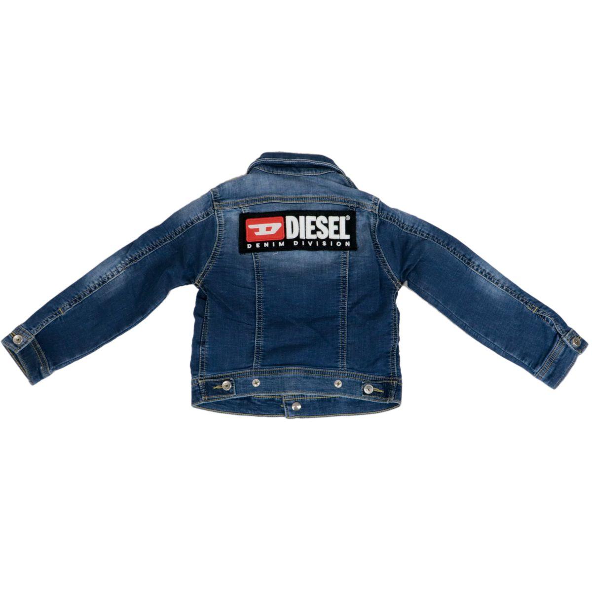 Used denim jacket Light denim Diesel