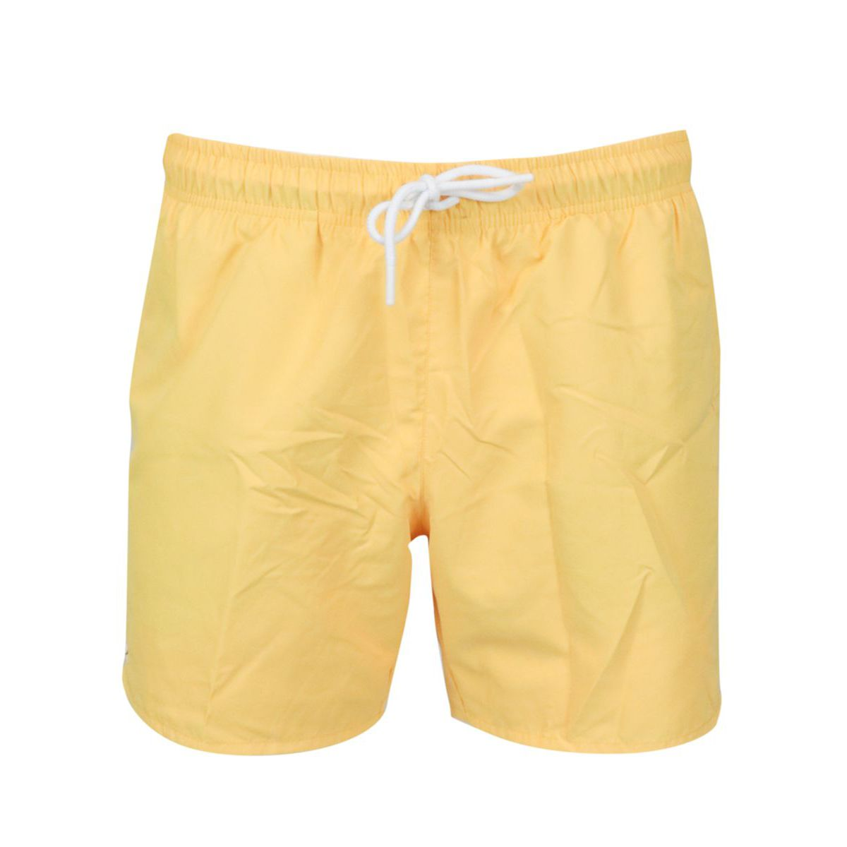 Quick-drying polyester swimsuit Yellow Lacoste