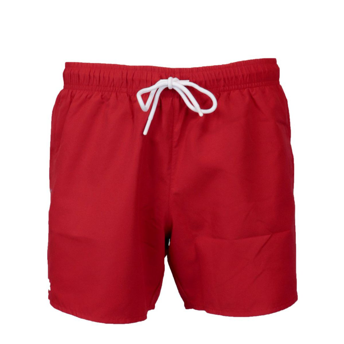Quick-drying polyester swimsuit Red Lacoste