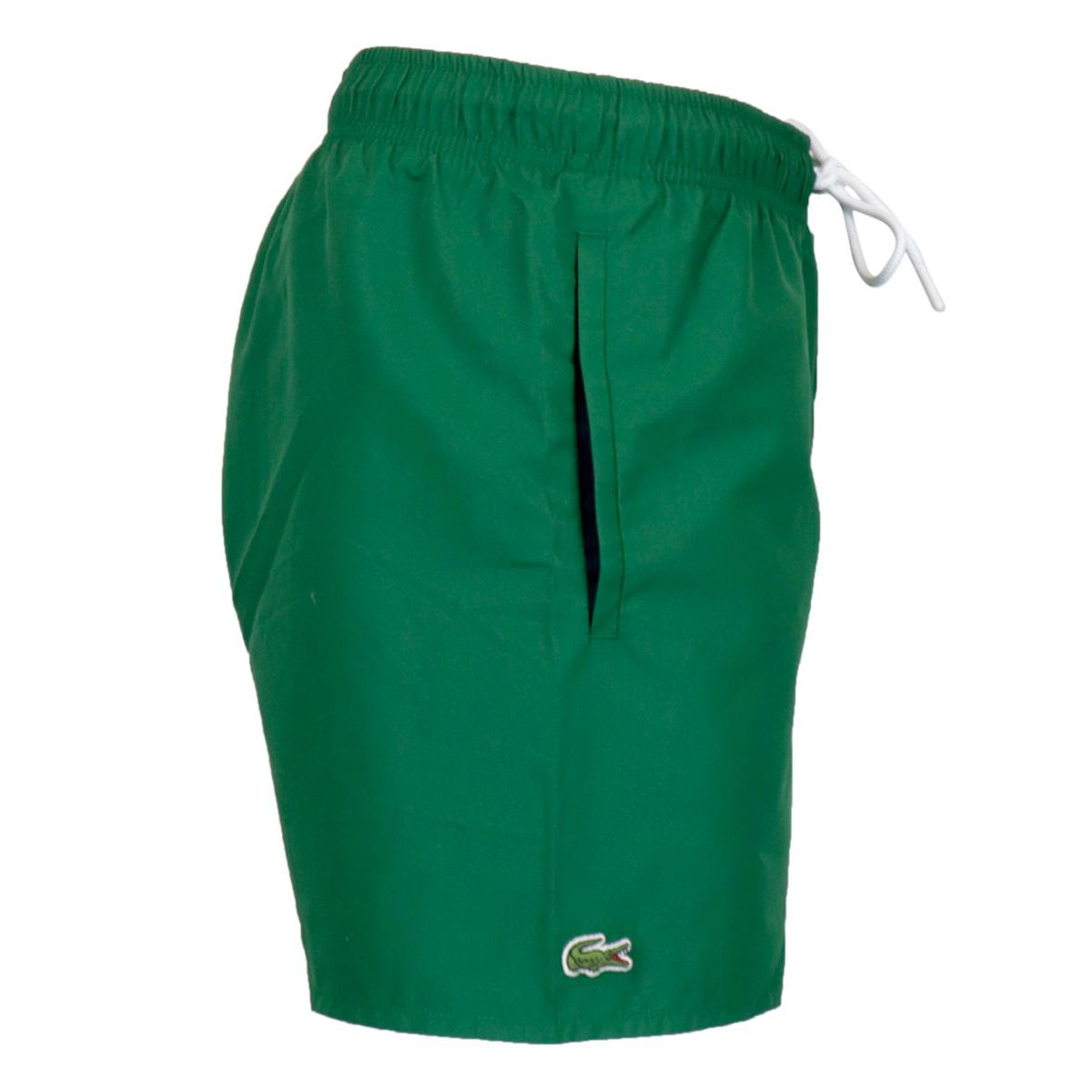 Quick-drying polyester swimsuit Green Lacoste