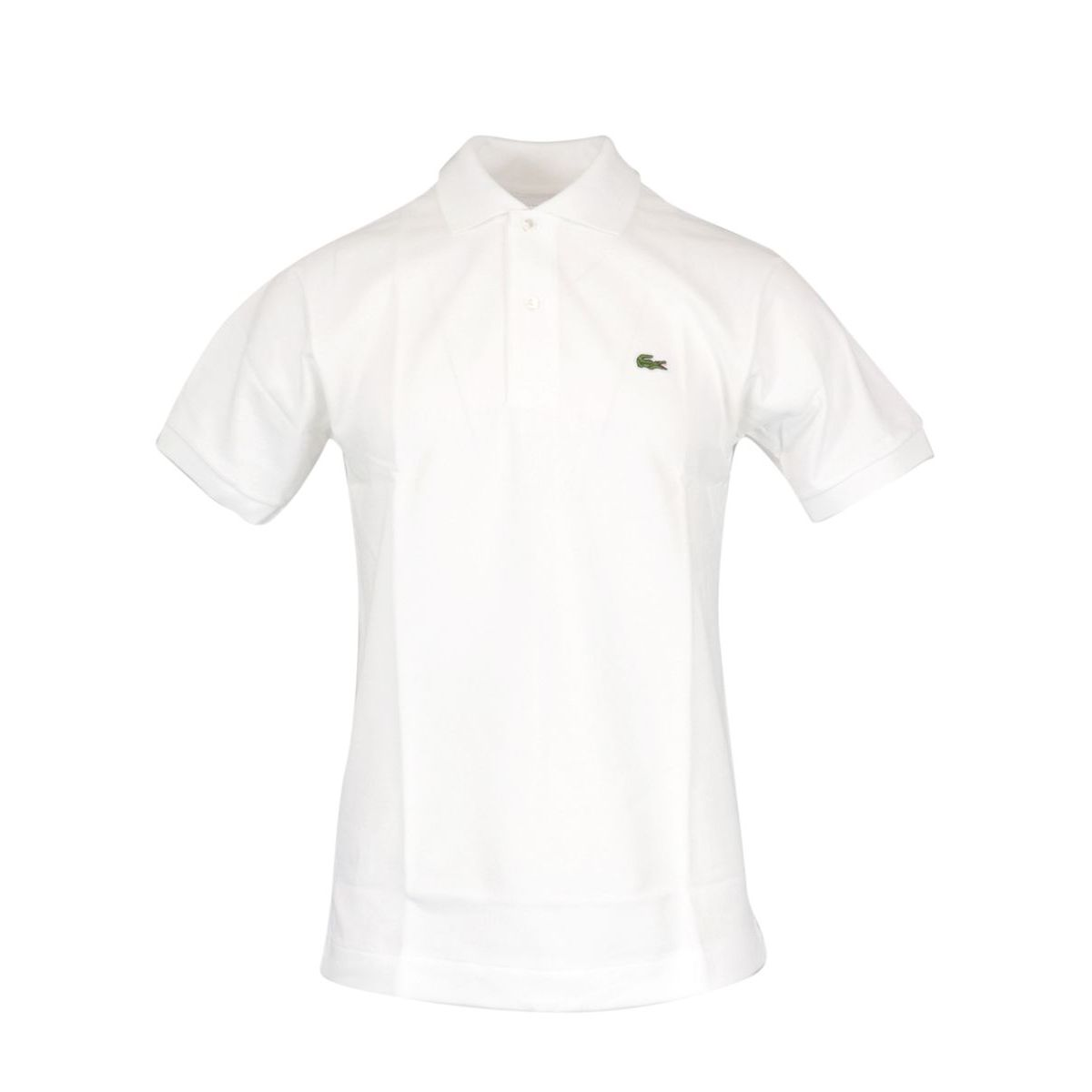 Classic fit 2 button cotton polo White Lacoste