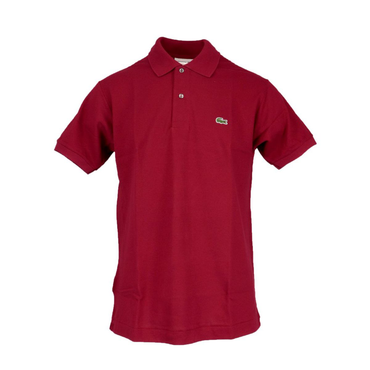Classic fit 2 button cotton polo Bordeaux Lacoste