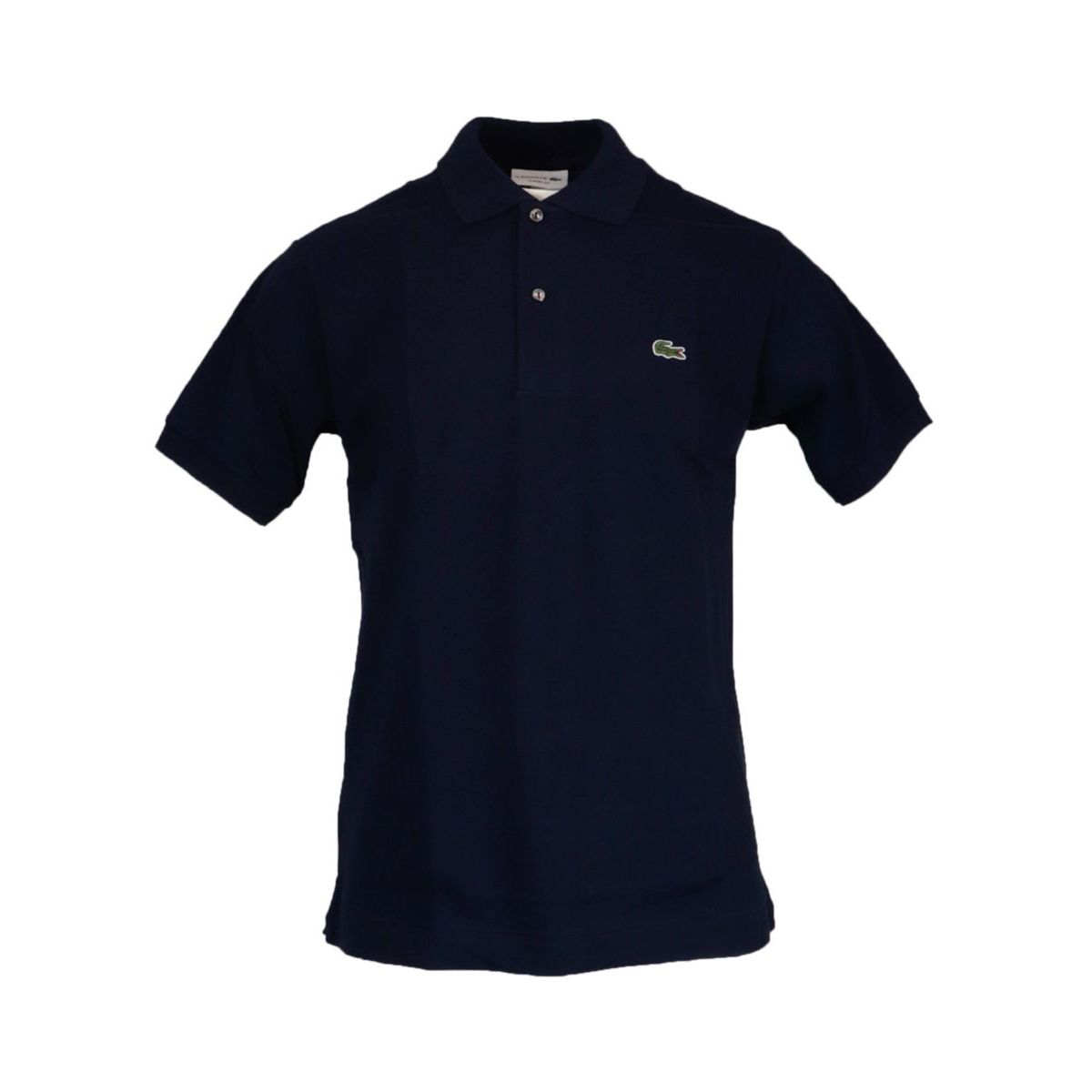 Classic fit 2 button cotton polo Navy Lacoste
