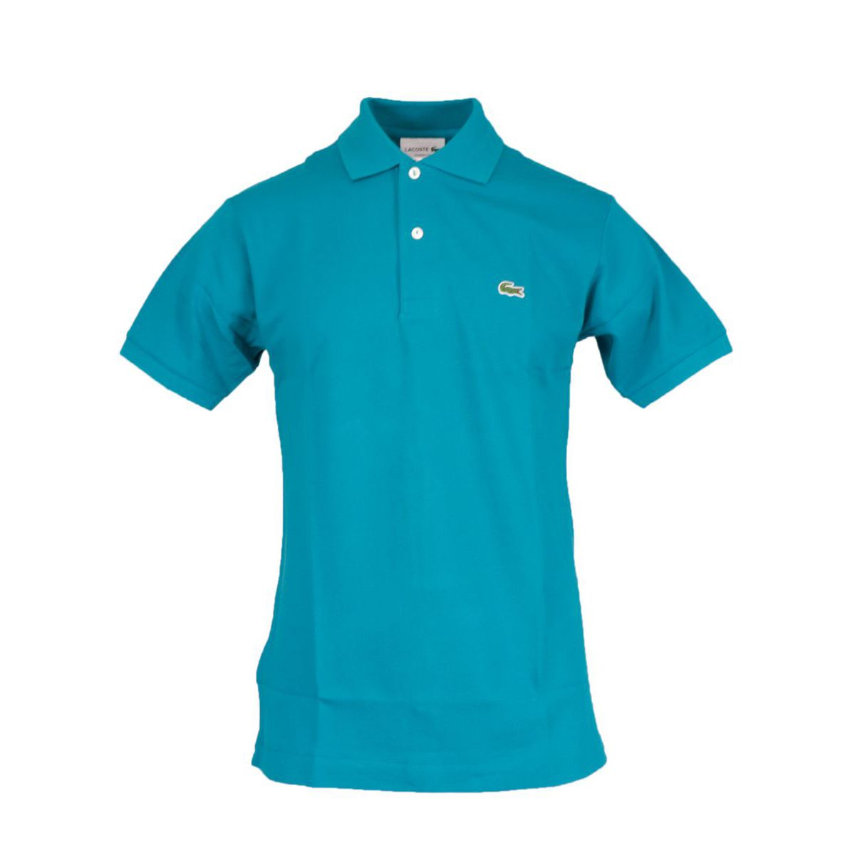 Classic fit 2 button cotton polo Teal Lacoste