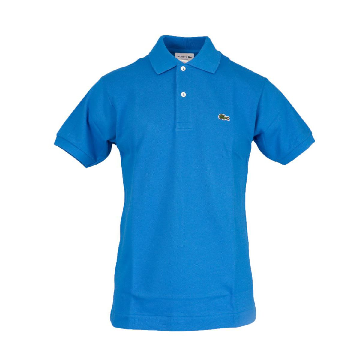 Classic fit 2 button cotton polo Royal Lacoste