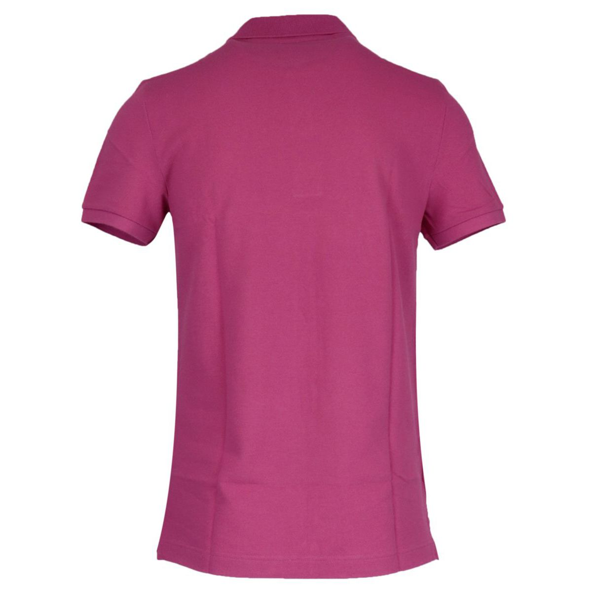 2-button polo shirt in slim cotton Cyclamen Lacoste