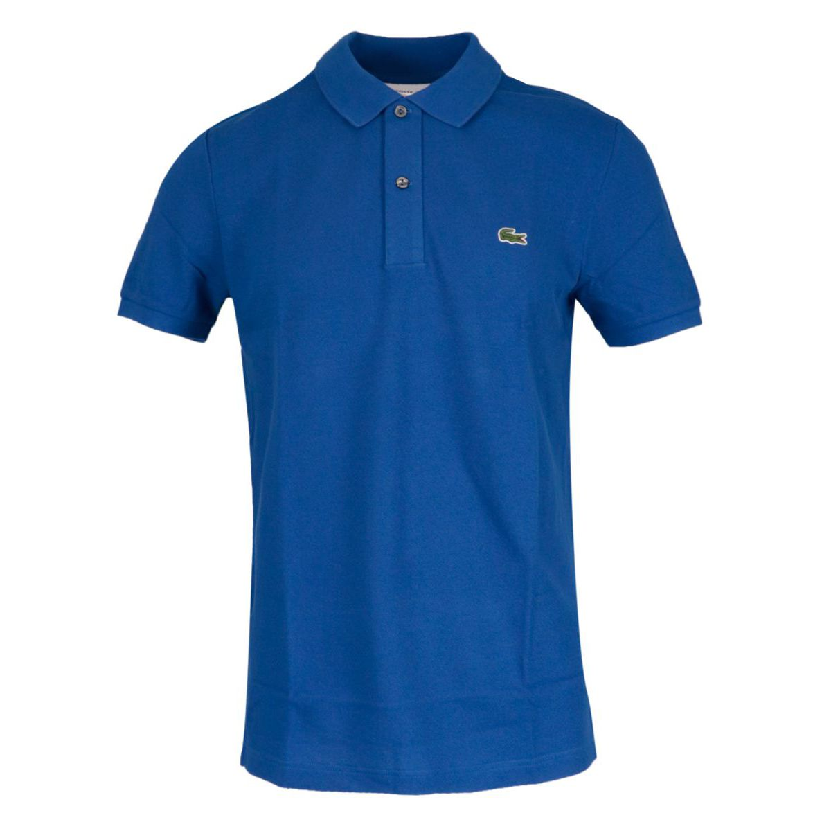 2-button polo shirt in slim cotton Indigo Lacoste