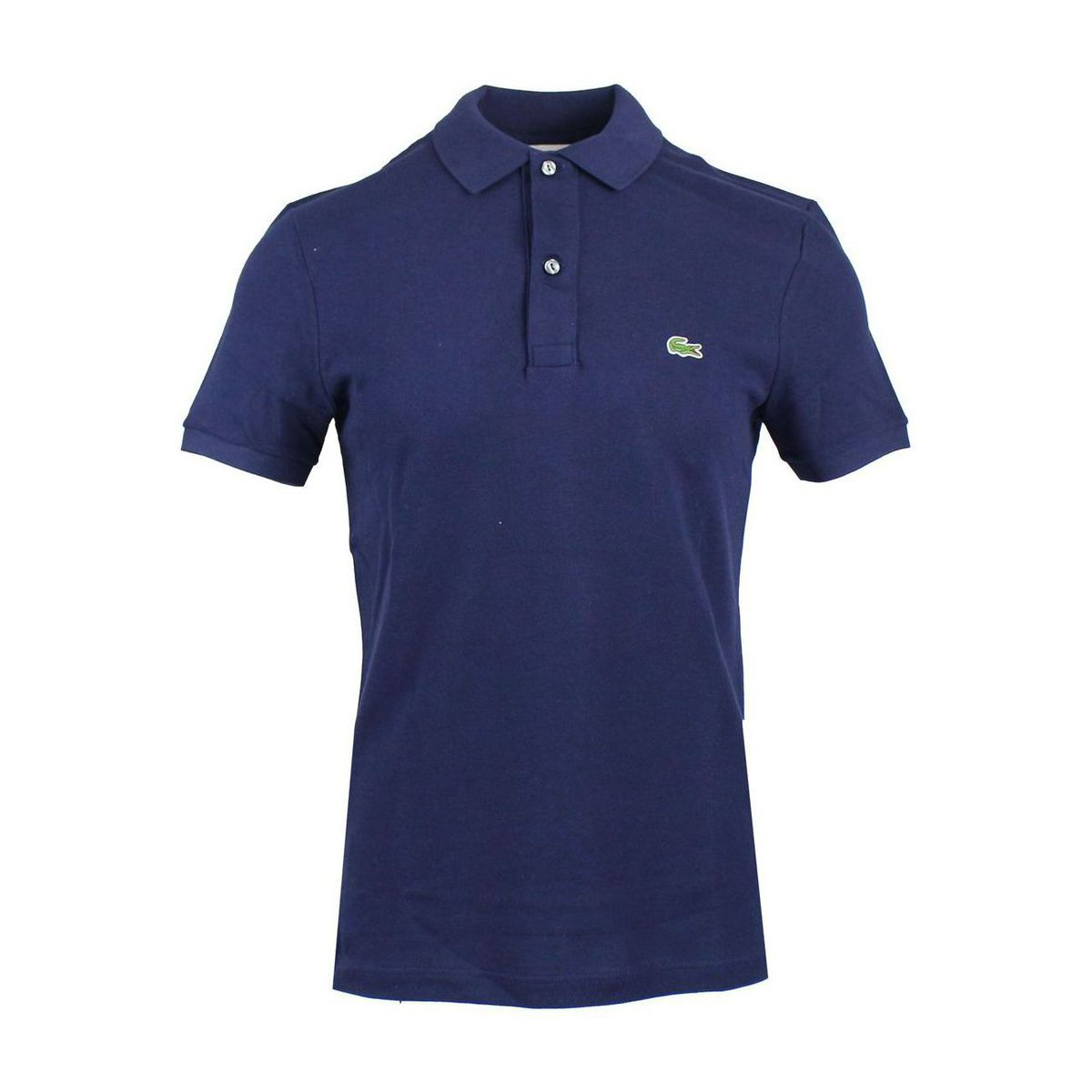 2-button polo shirt in slim cotton Navy Lacoste