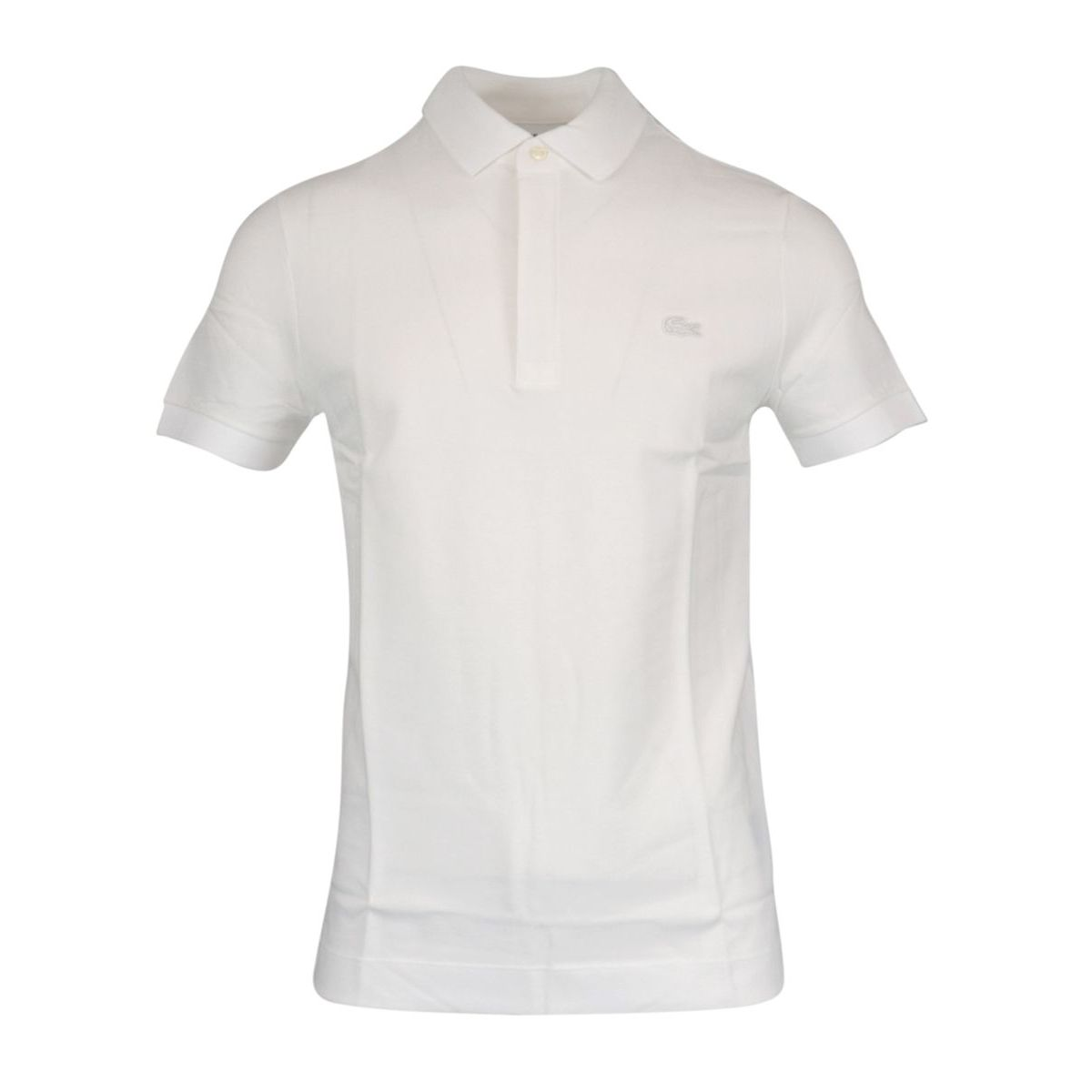 Regular Fit polo shirt in stretch cotton pique White Lacoste