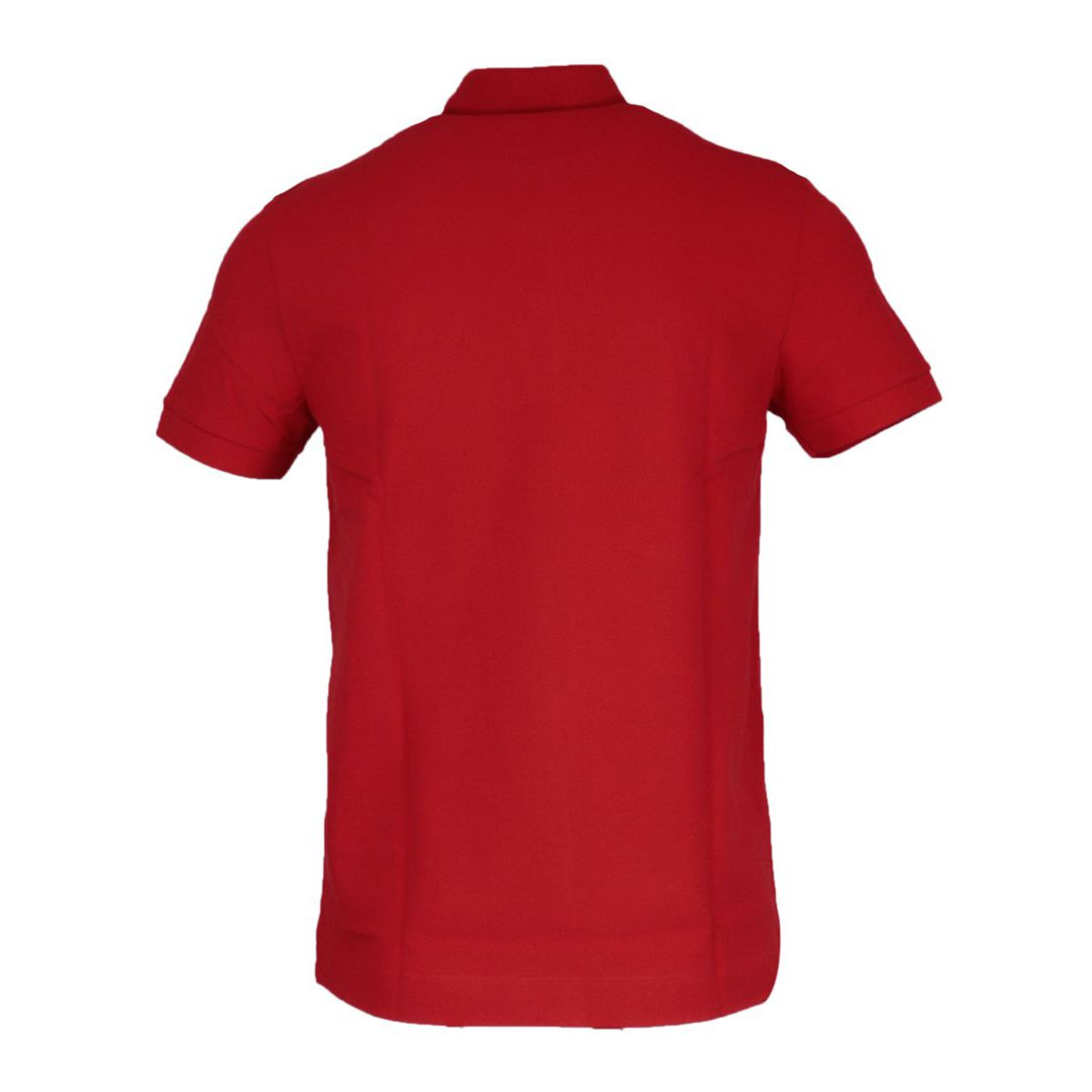Regular Fit polo shirt in stretch cotton pique Red Lacoste