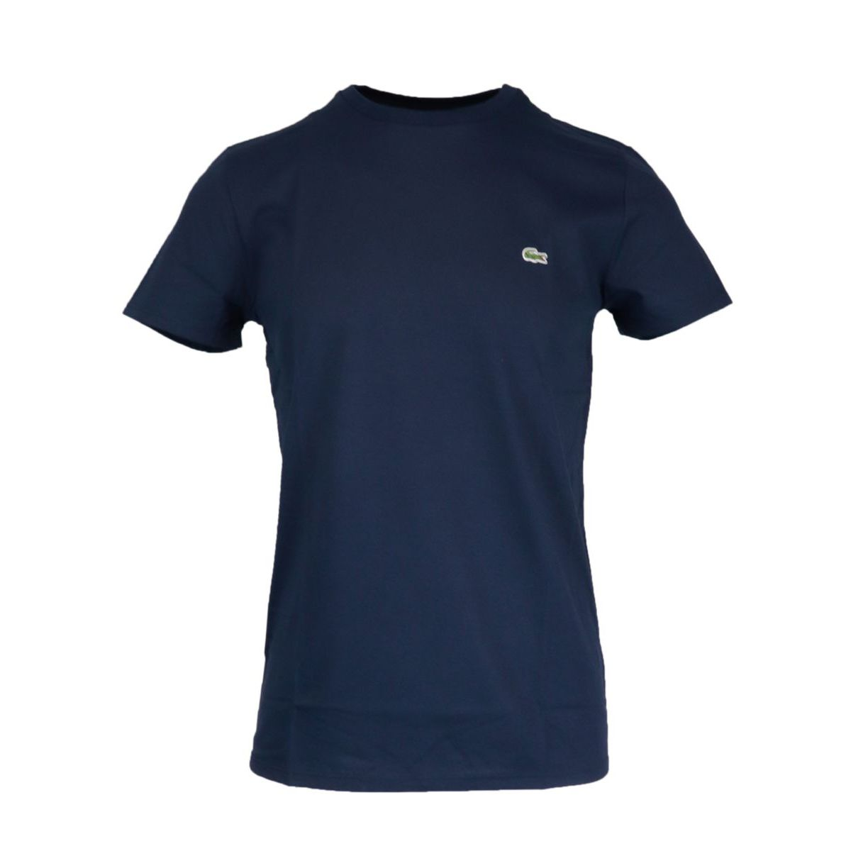 Regular cotton T-shirt with small logo applied Navy Lacoste