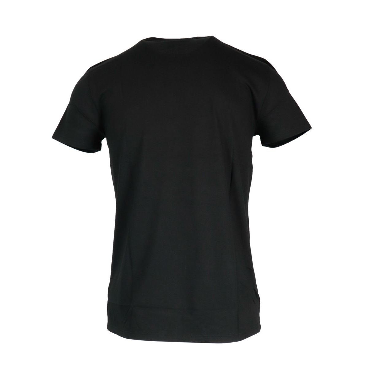 Regular cotton T-shirt with small logo applied Black Lacoste
