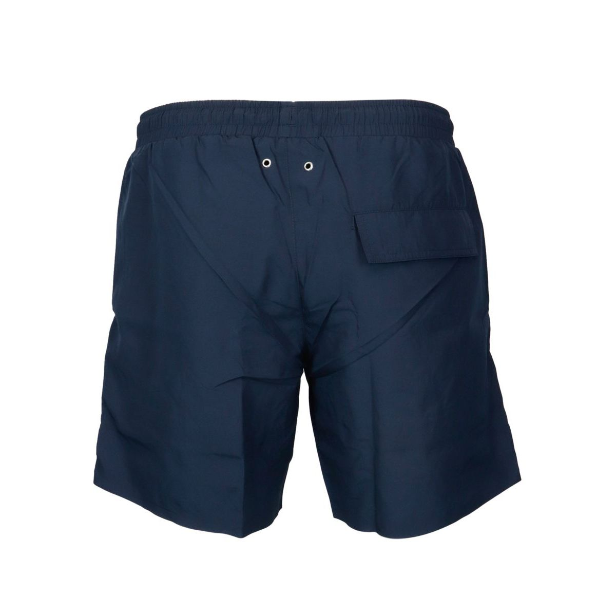 Beach shorts with laces and side logo Navy Lacoste