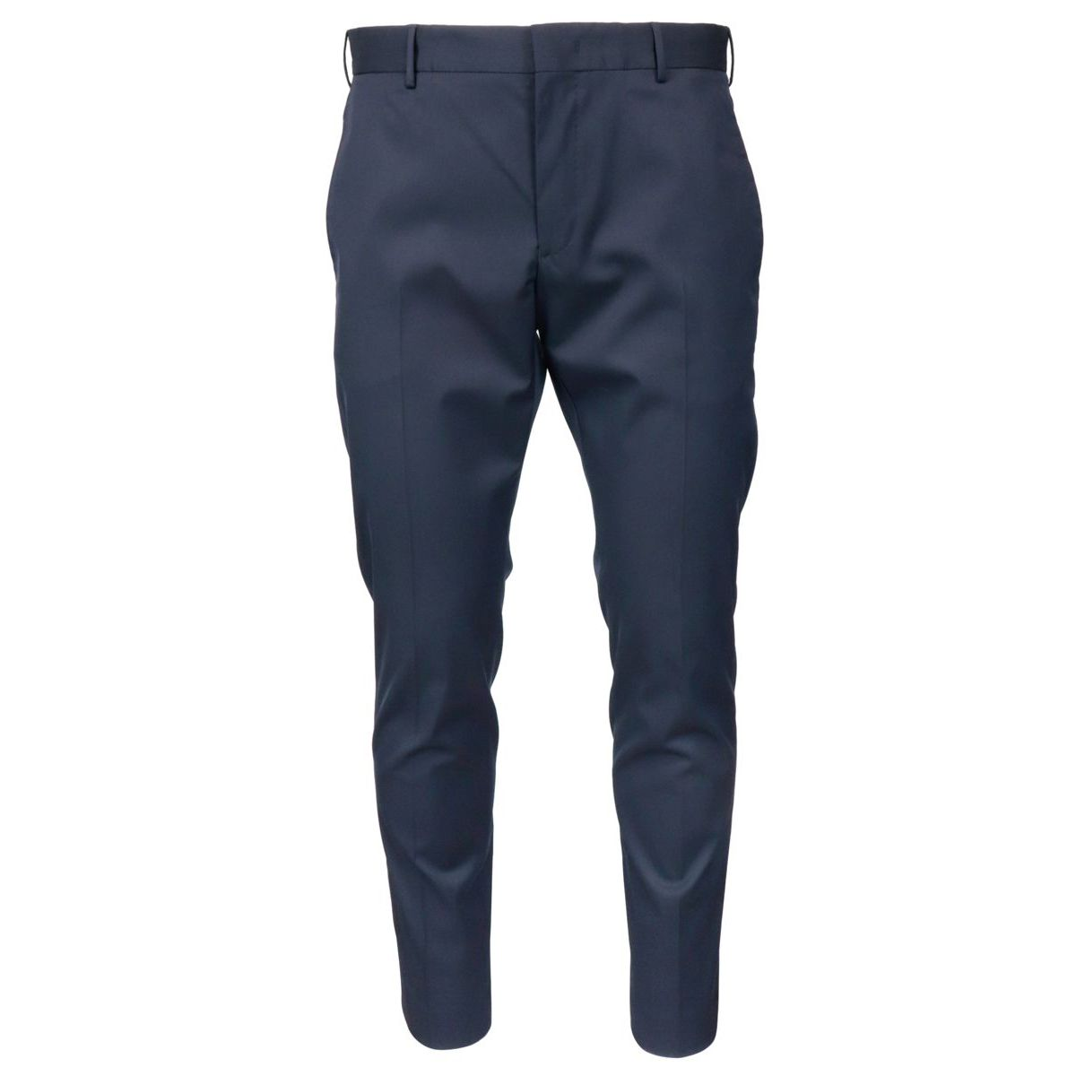 Wool blend skinny trousers with america pockets Navy PT TORINO