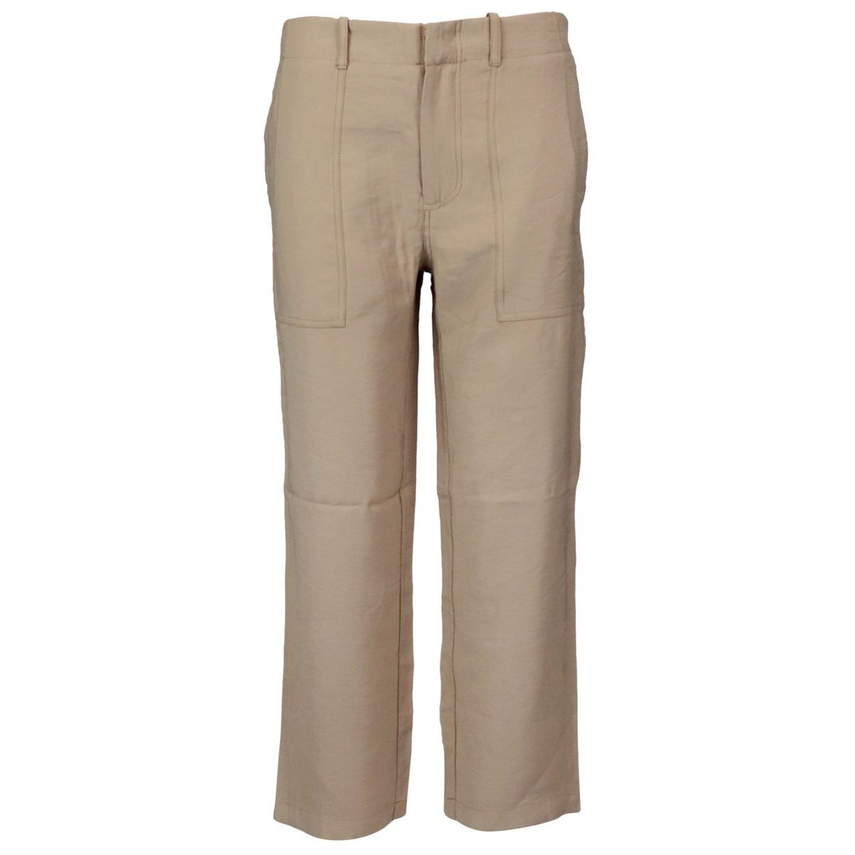 Cargo trousers in viscose with pockets Colonial Alpha Studio