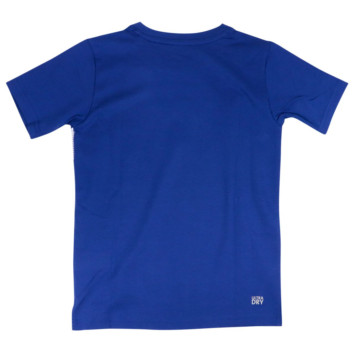 Cotton T-shirt with negative logo print Royal Lacoste
