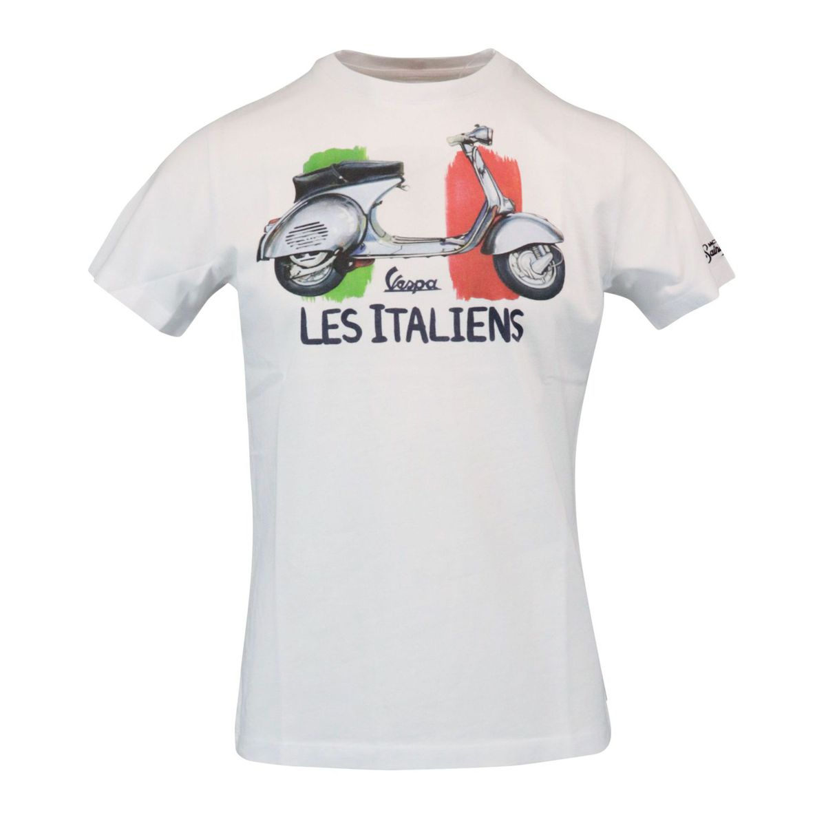Vespa Les Italien cotton t-shirt White MC2 Saint Barth