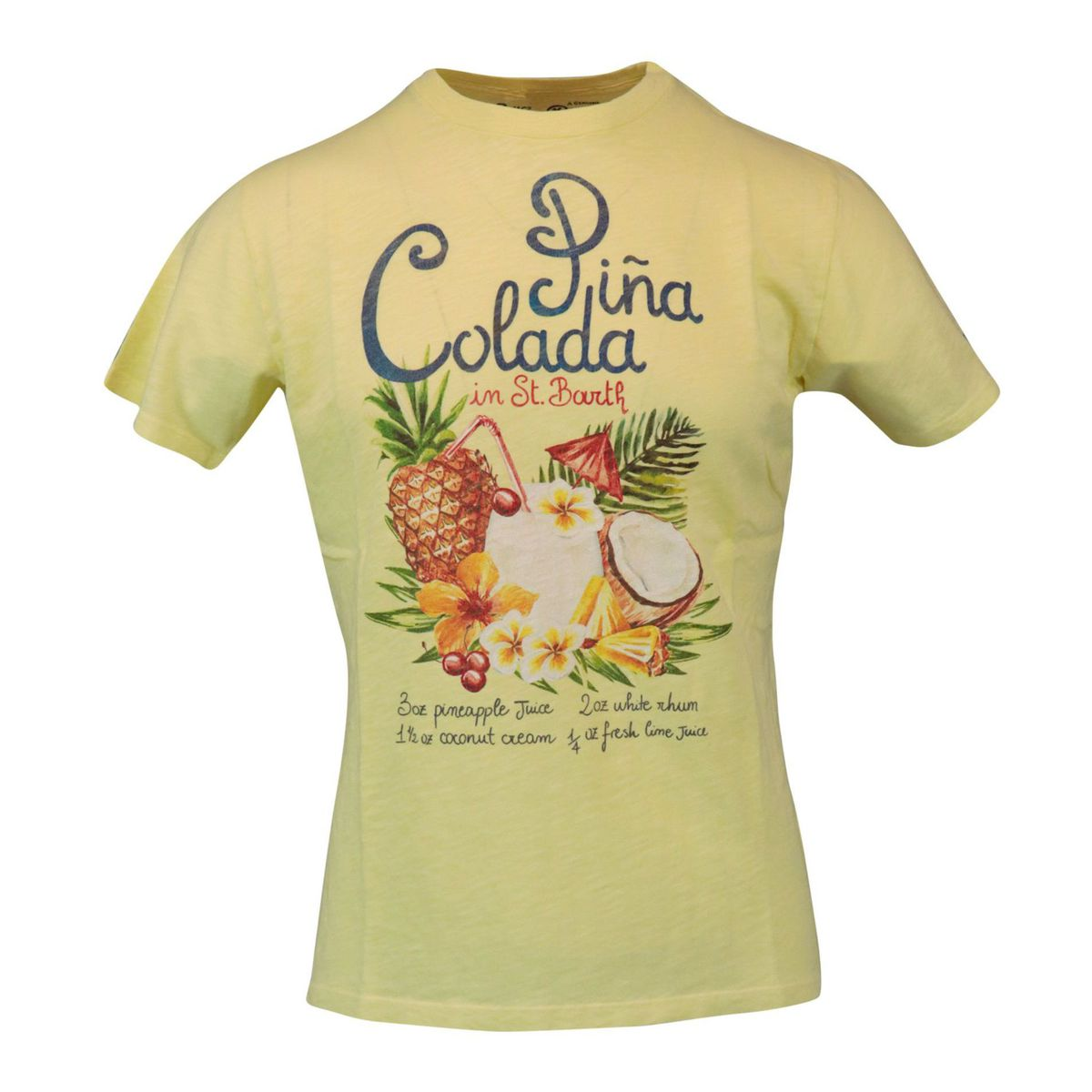 Pina Colada 92 cotome t-shirt Yellow MC2 Saint Barth
