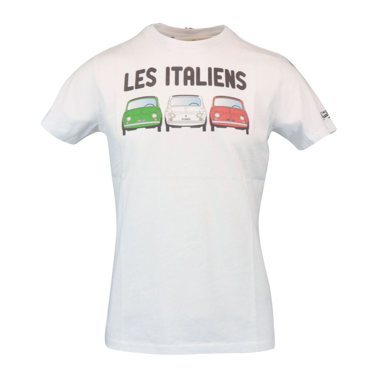 Les Italien cotton t-shirt White MC2 Saint Barth