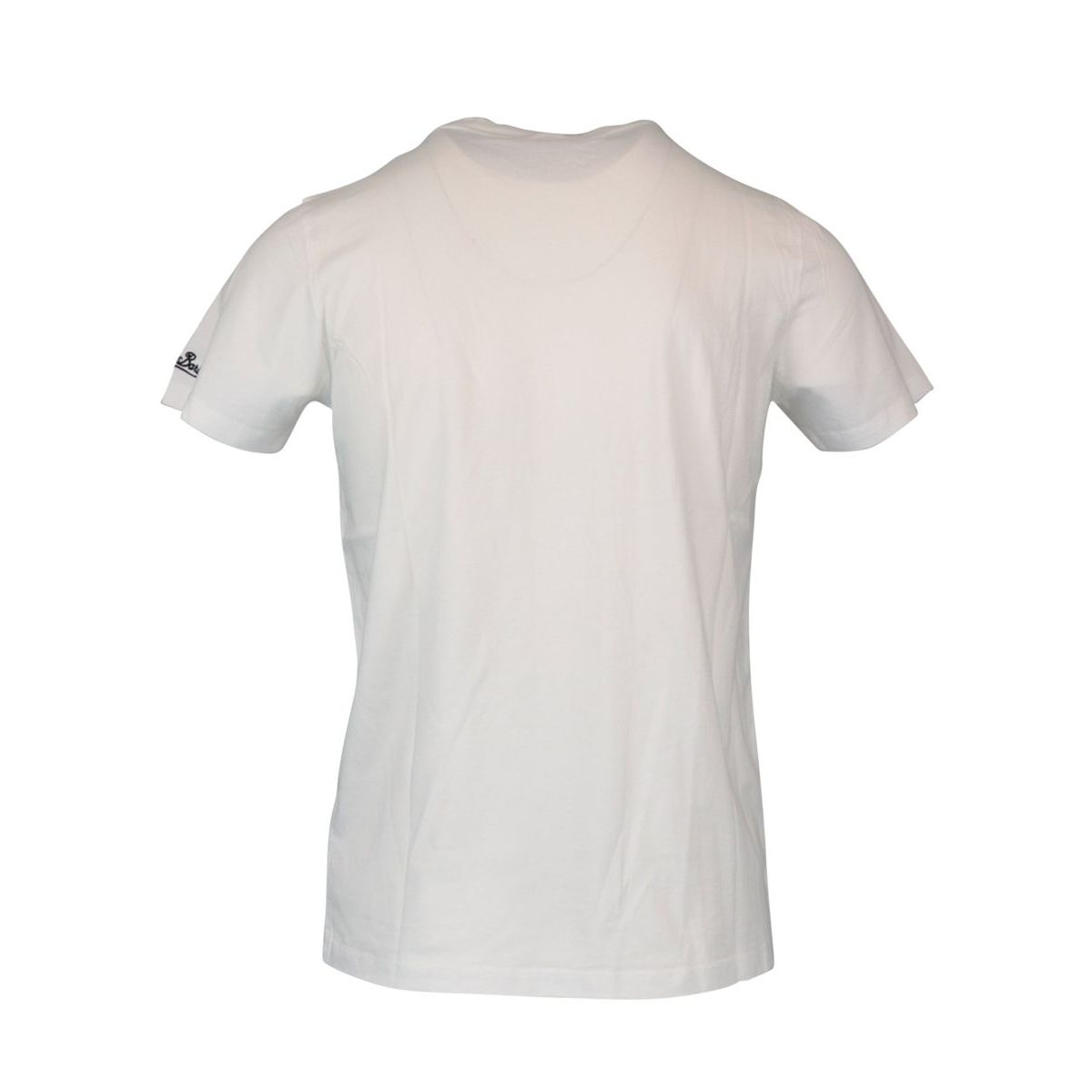Cotton T-shirt with Lemon Vodka print White MC2 Saint Barth