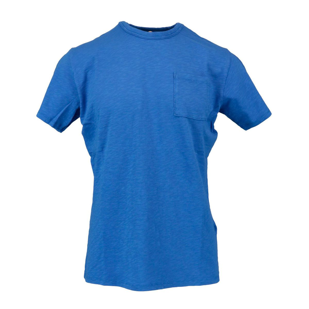 President T-shirt with pocket Bluette MC2 Saint Barth