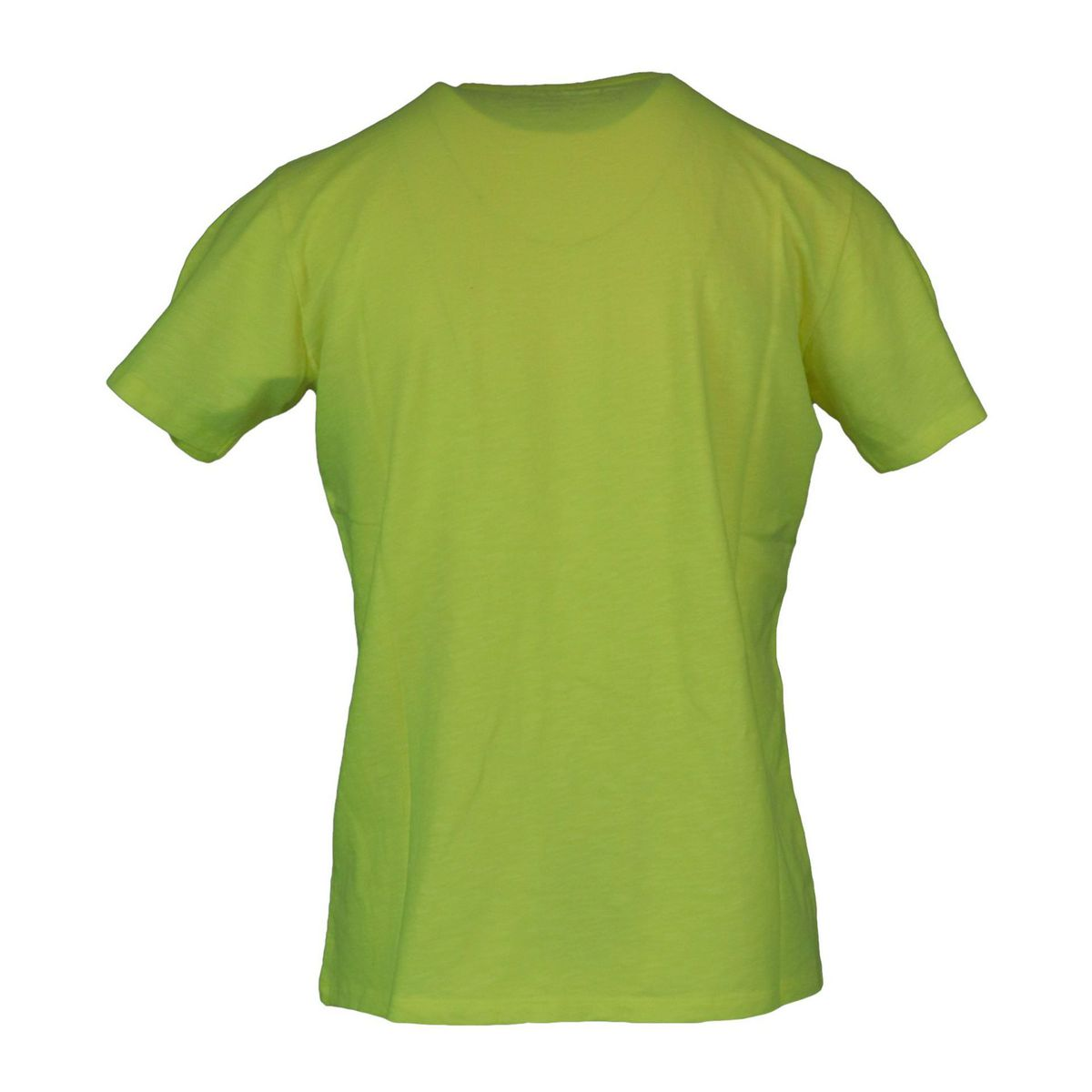 President T-shirt with pocket Giallo MC2 Saint Barth