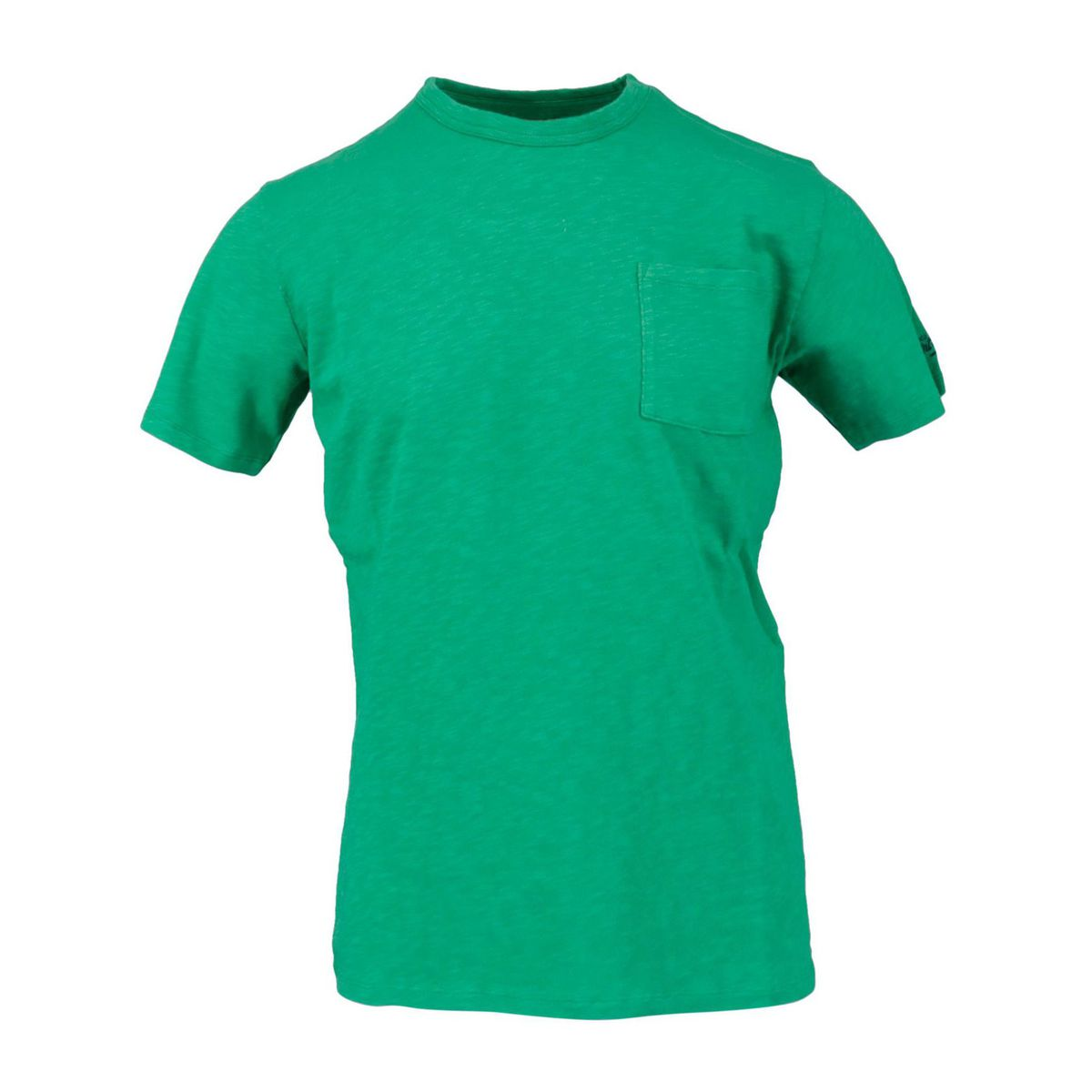 President T-shirt with pocket Menta MC2 Saint Barth
