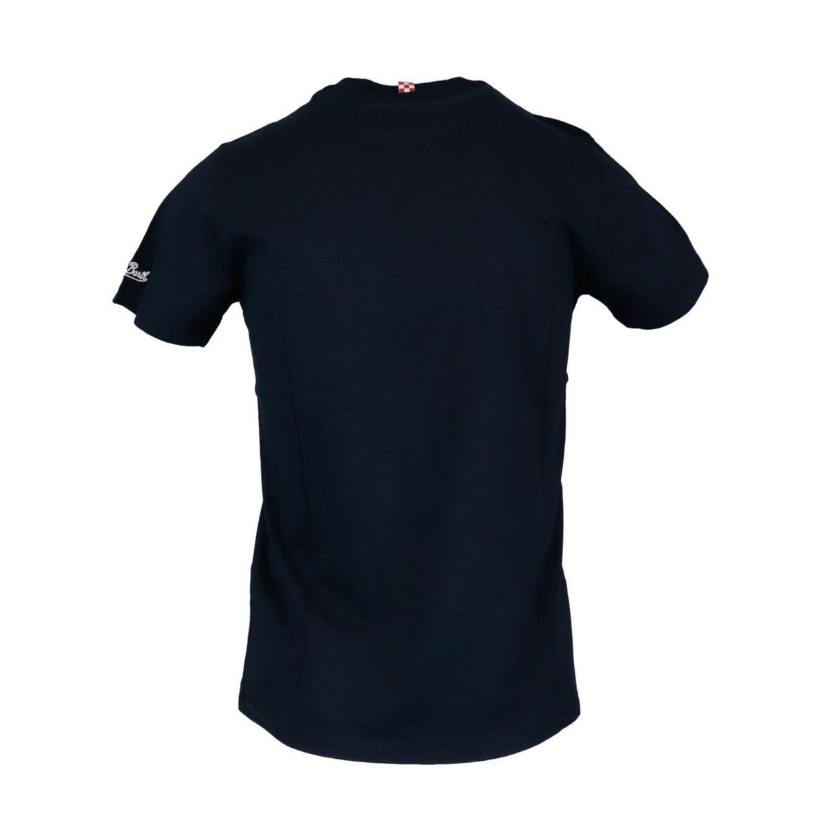 Cotton T-shirt 61 Mojito Micro 94 Navy MC2 Saint Barth