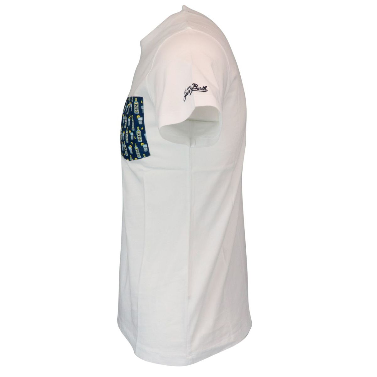 Cotton T-shirt 01 GINX 61 White MC2 Saint Barth