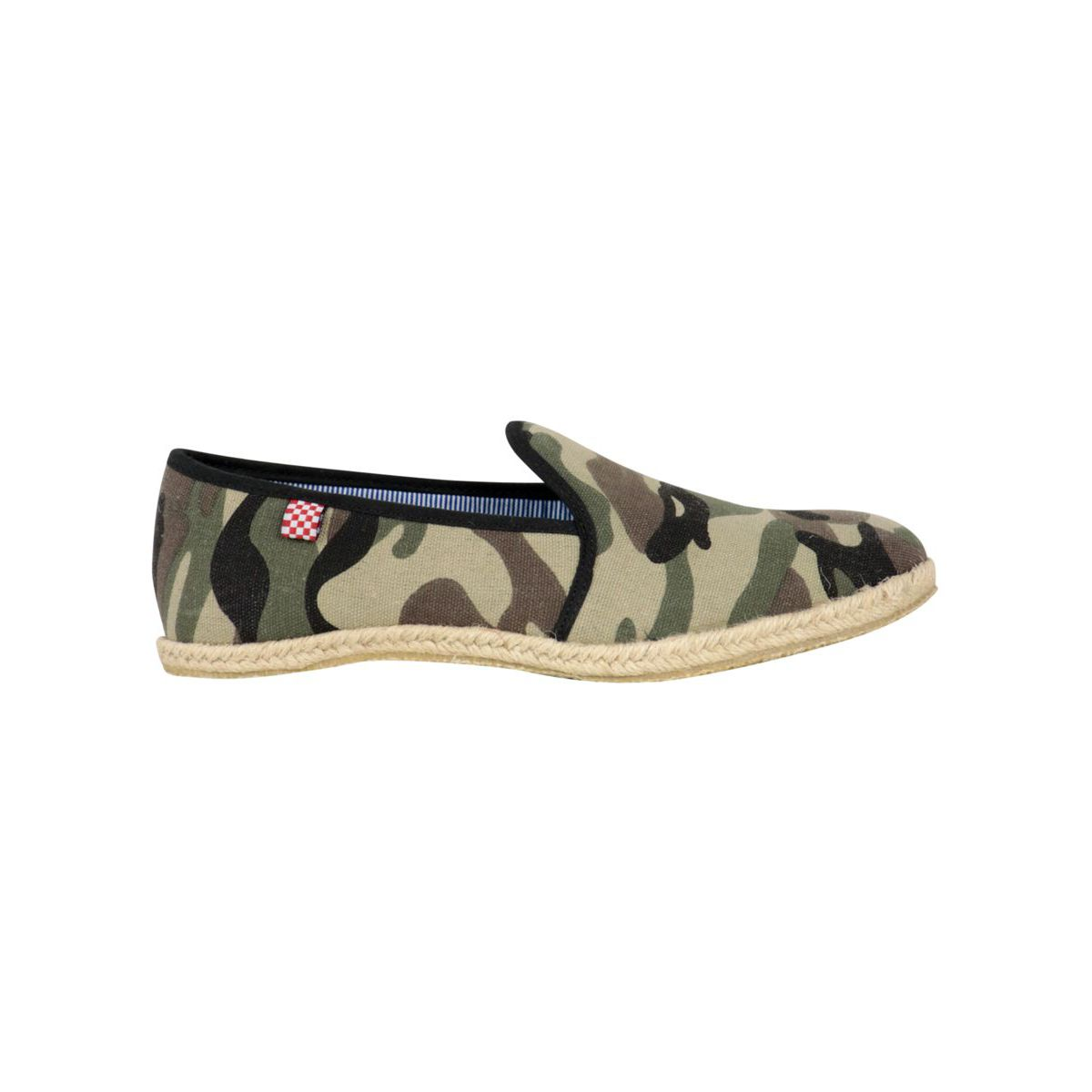 Mimetic canvas espadrilles Camouflage MC2 Saint Barth