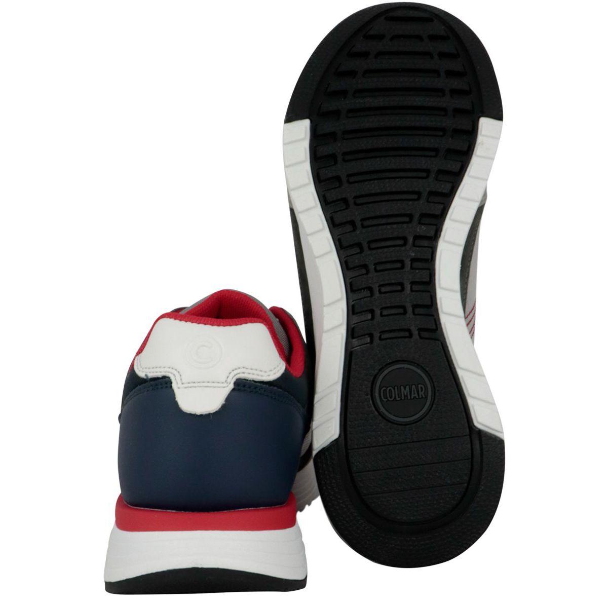 Supreme kick sneakers Gray / navy Colmar Shoes