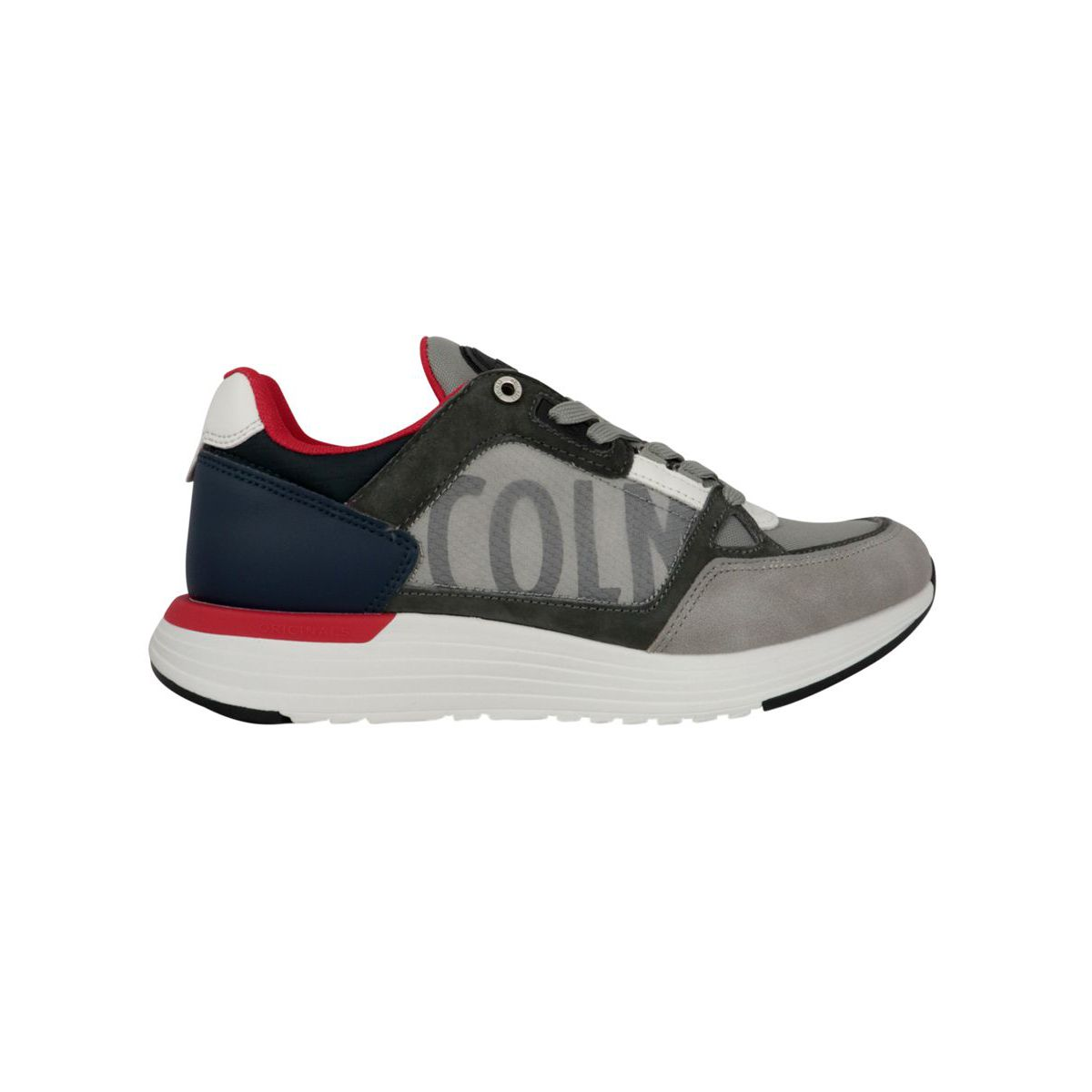 Supreme kick sneakers Gray / navy Colmar Shoes