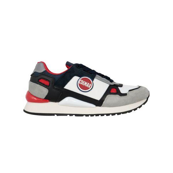 Tyler beat sneakers Gray / navy Colmar Shoes