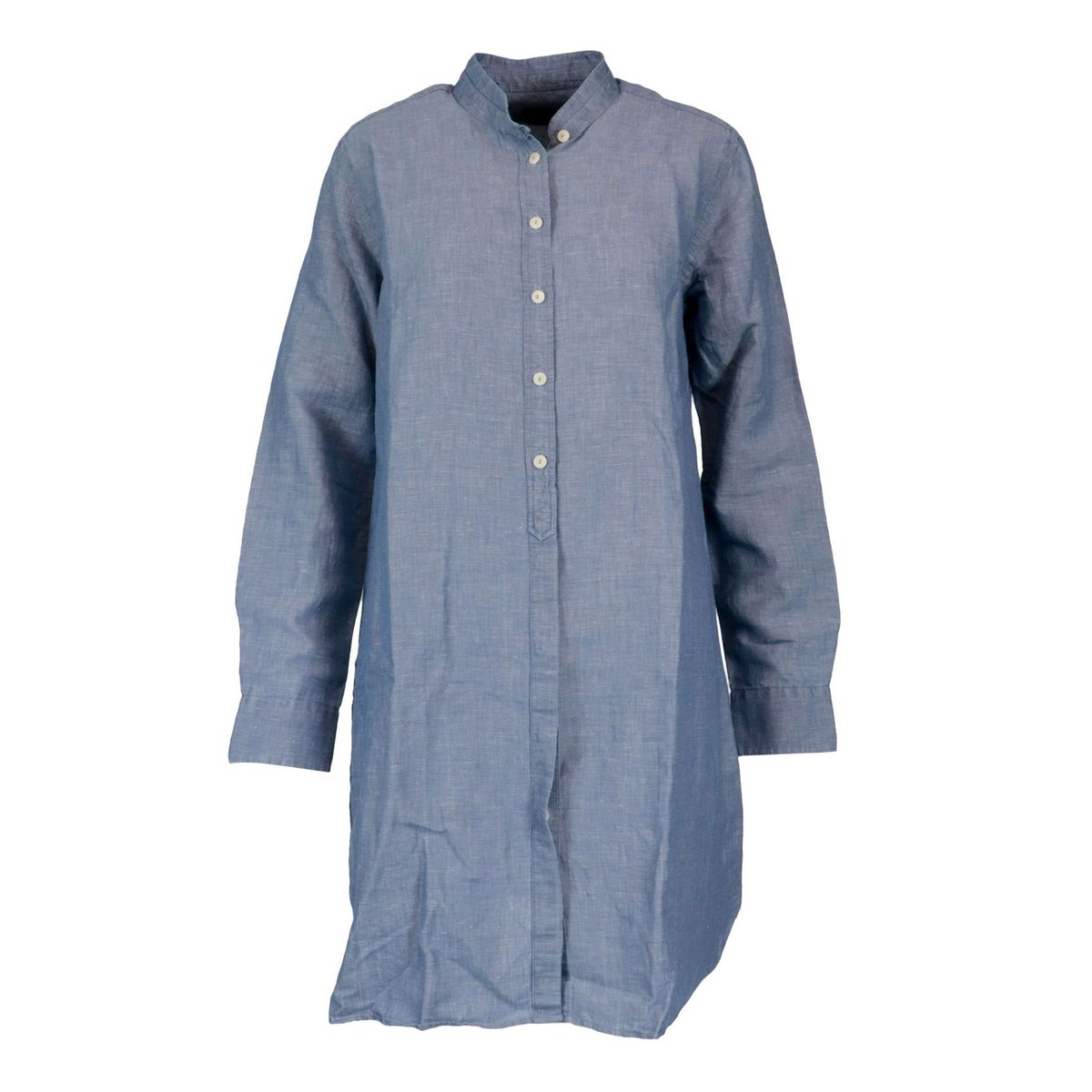Clemance linen blend shirt dress Denim MC2 Saint Barth