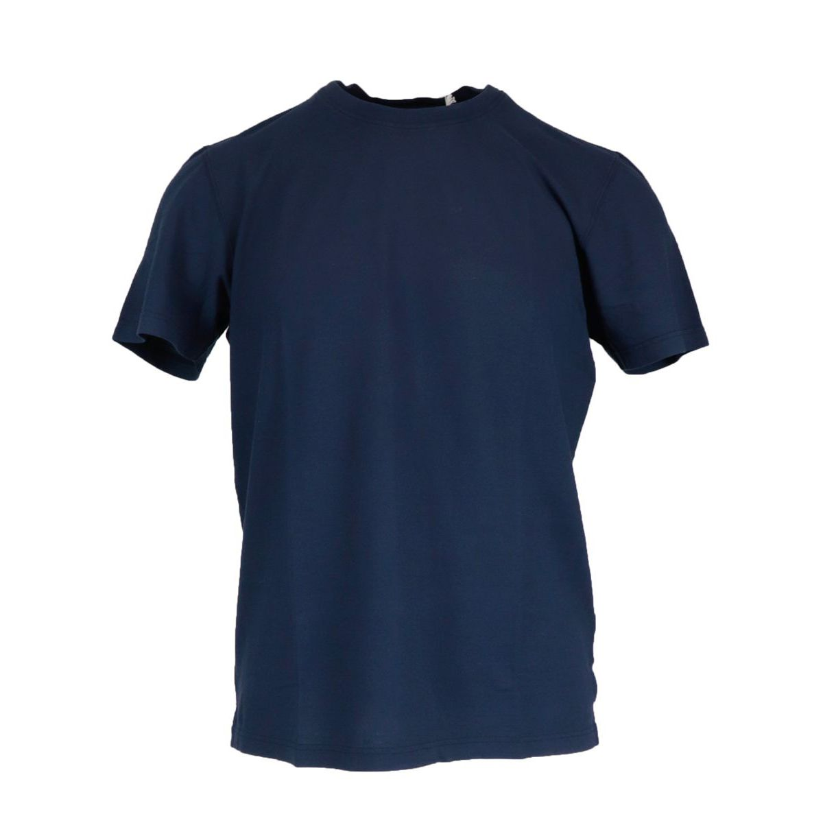 Crew neck t-shirt in ice cotton Blue Gran Sasso