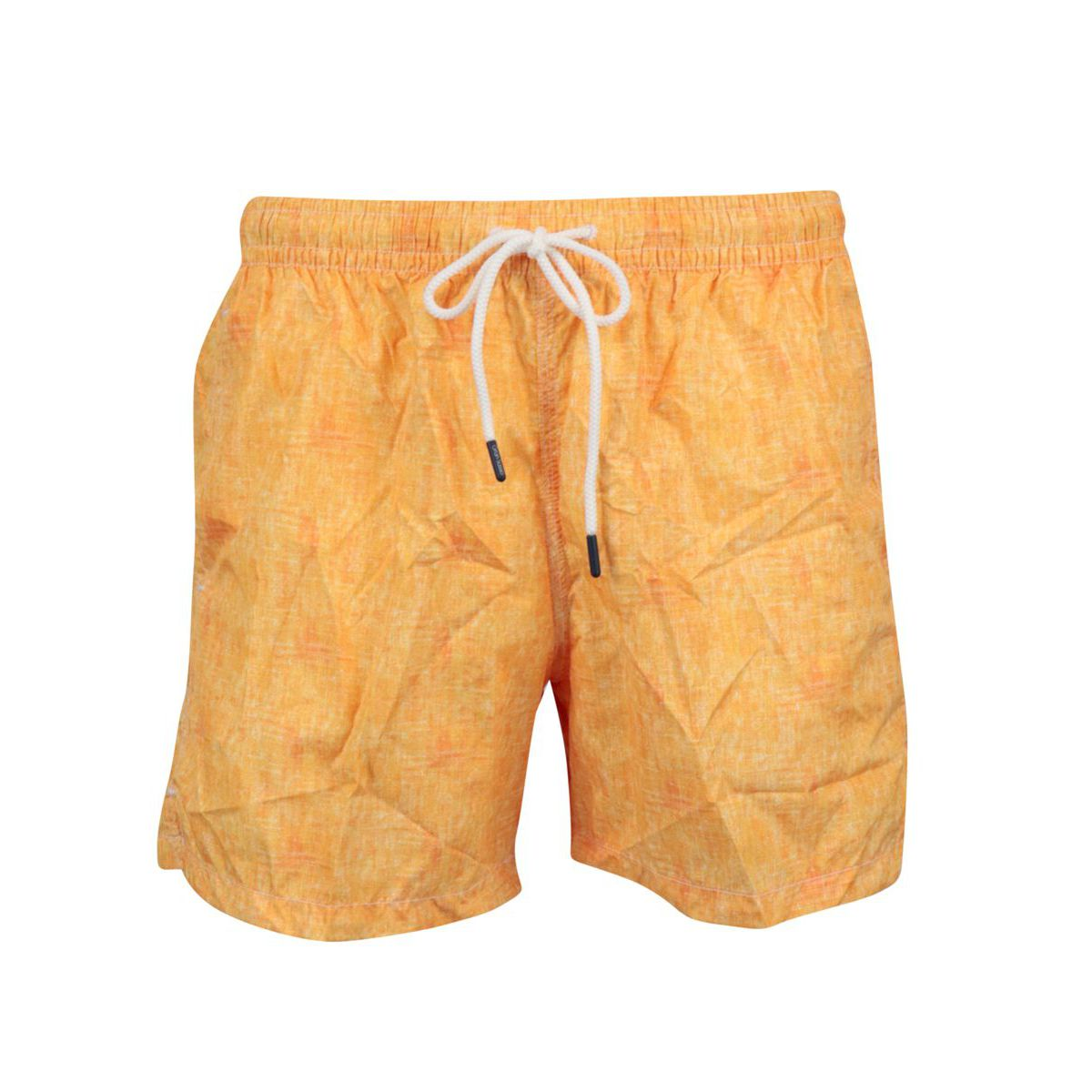 Boxer costume in frosted polyamide Orange Gran Sasso