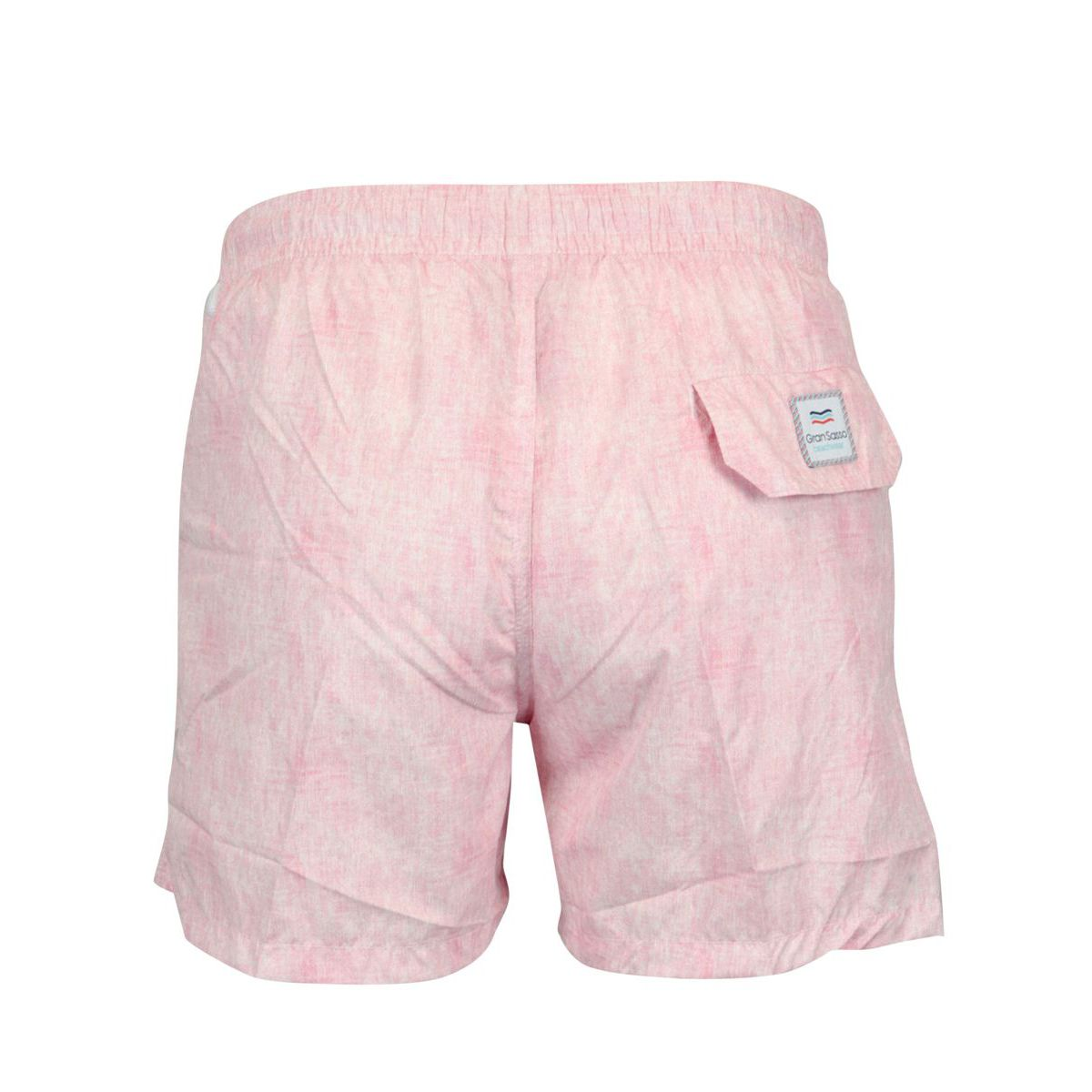Boxer costume in frosted polyamide Pink Gran Sasso