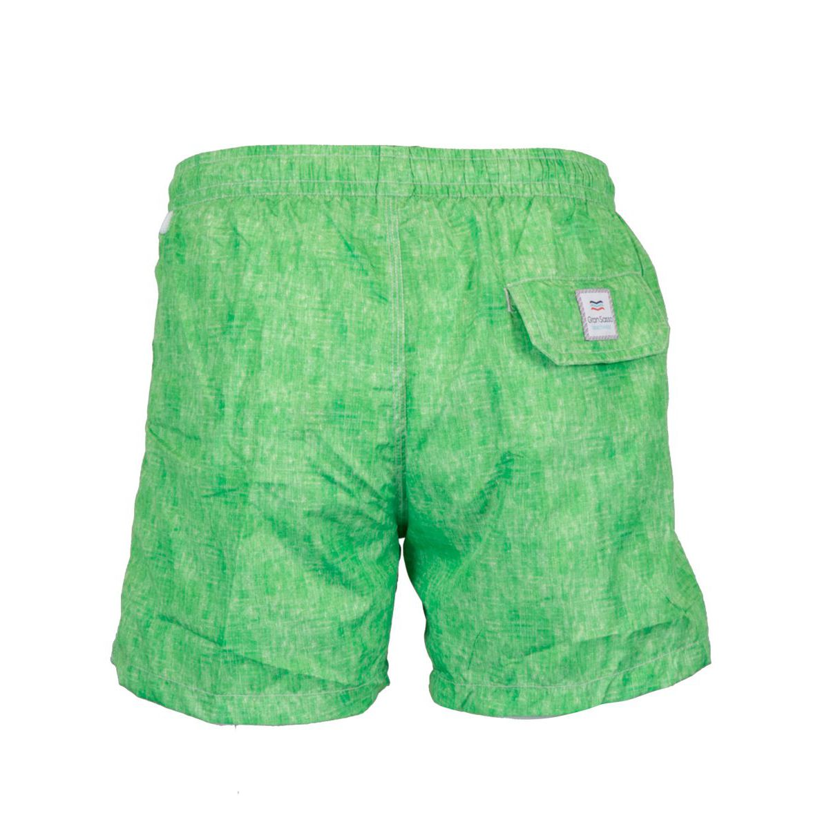 Boxer costume in frosted polyamide Green Gran Sasso