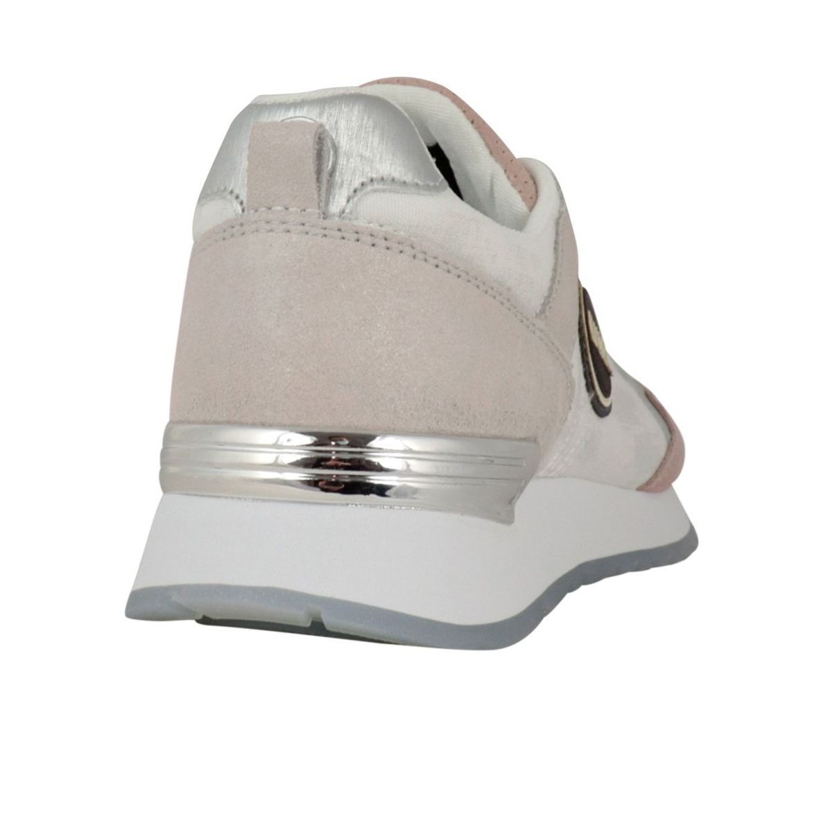 Travis Prime bi-material sneakers with metal details Pink Colmar Shoes