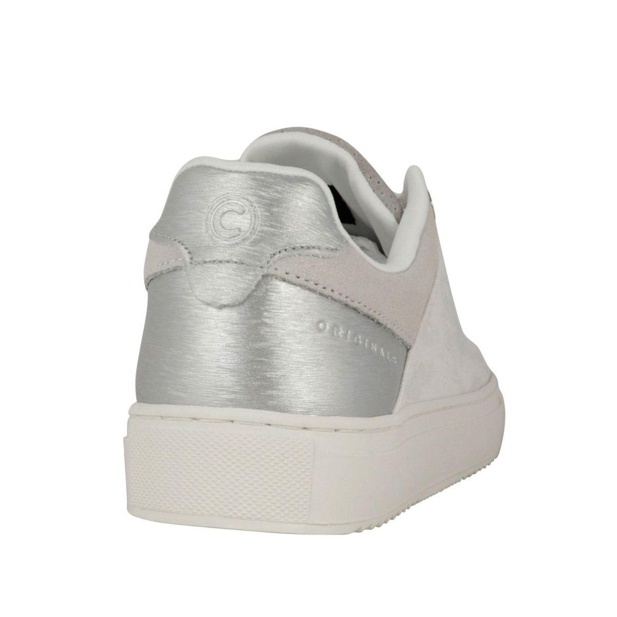 Bradbury Prime bi-material sneakers with box bottom Light gray Colmar Shoes