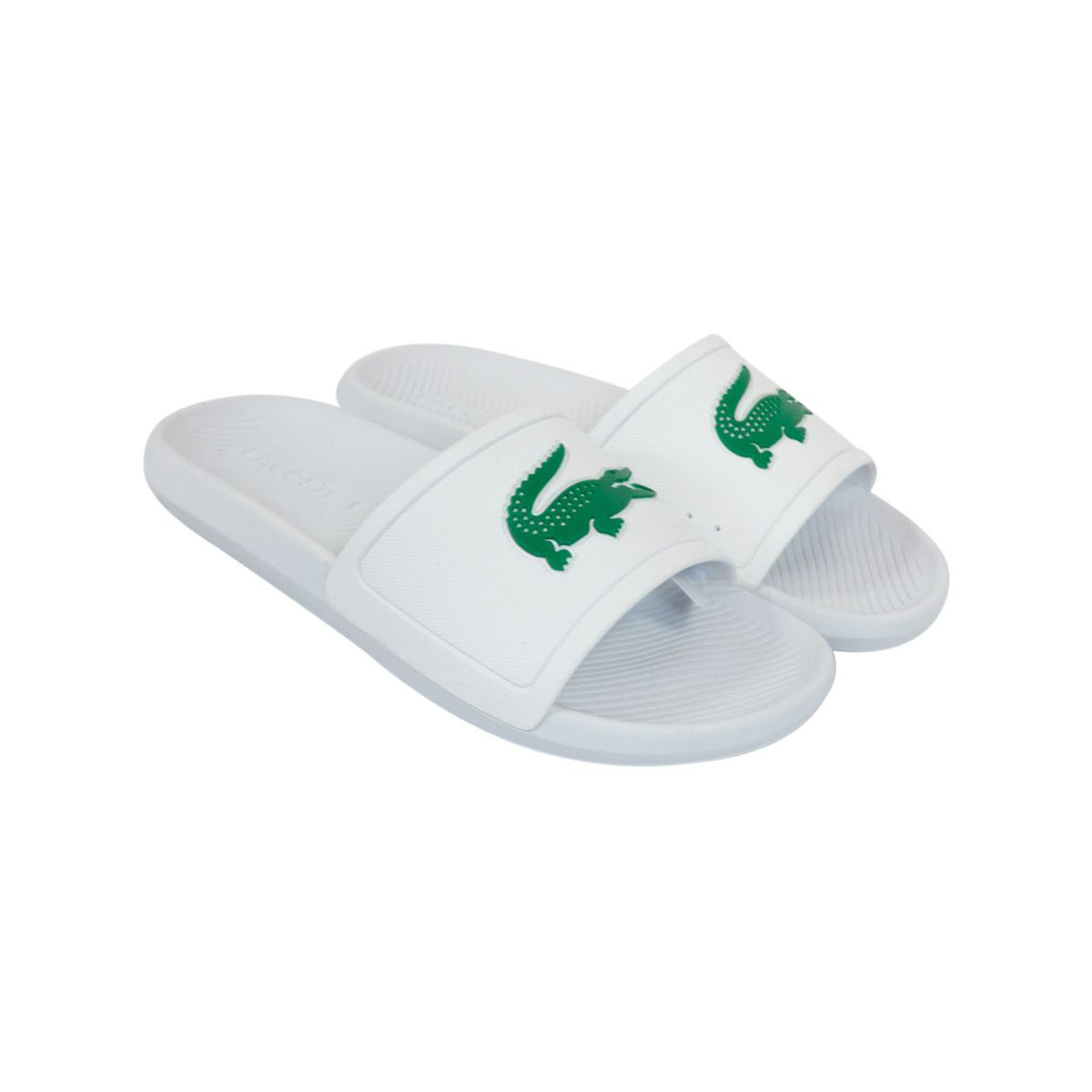 Waterproof rubber slippers White Lacoste