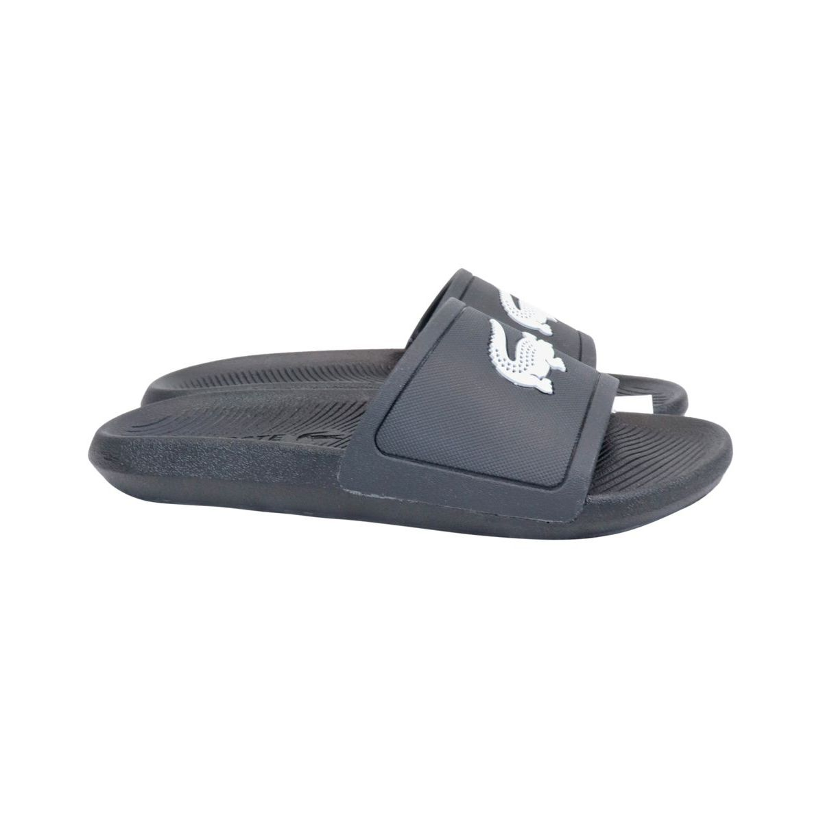 Waterproof rubber slippers Black Lacoste