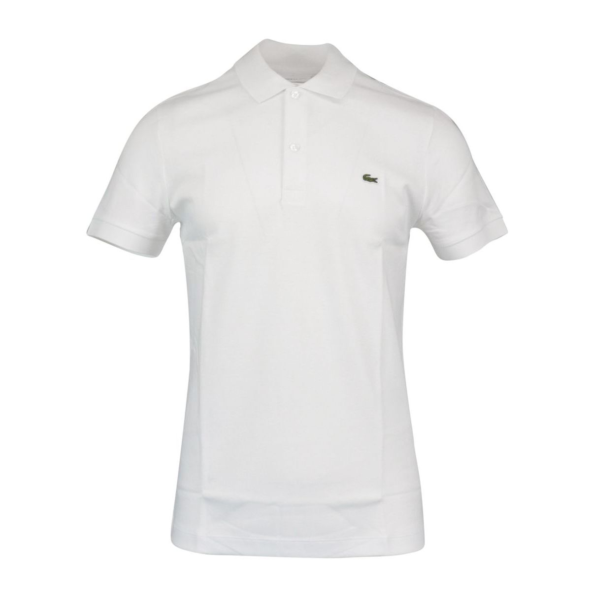 Regular fit polo shirt in cotton jersey White Lacoste