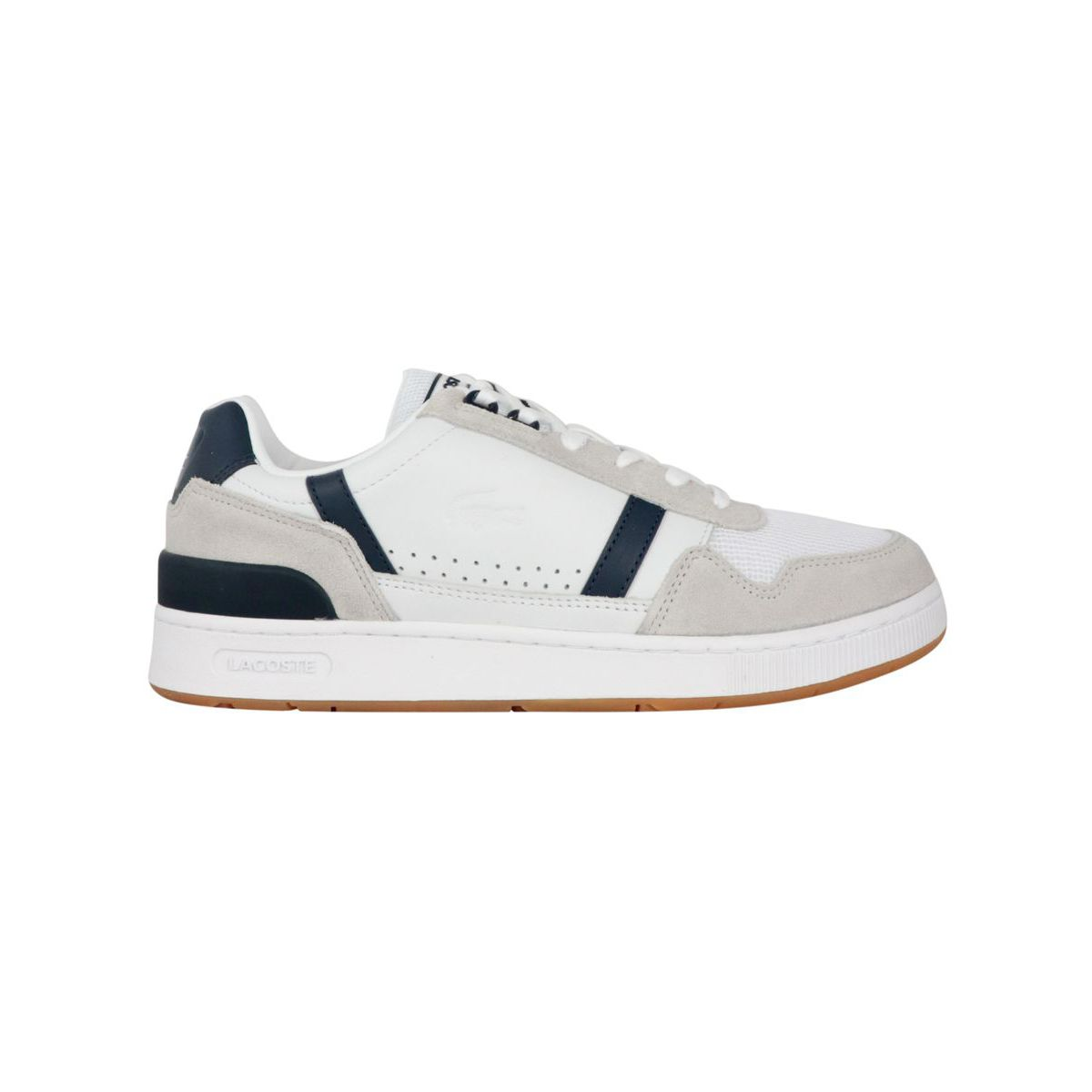 T-Clip leather sneakers White Lacoste