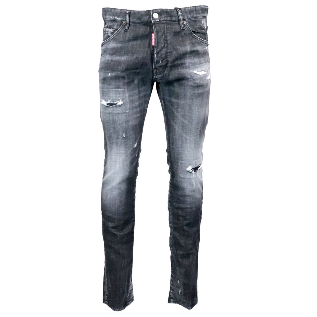 Jeans con rotture Cool Guy Nero Dsquared2