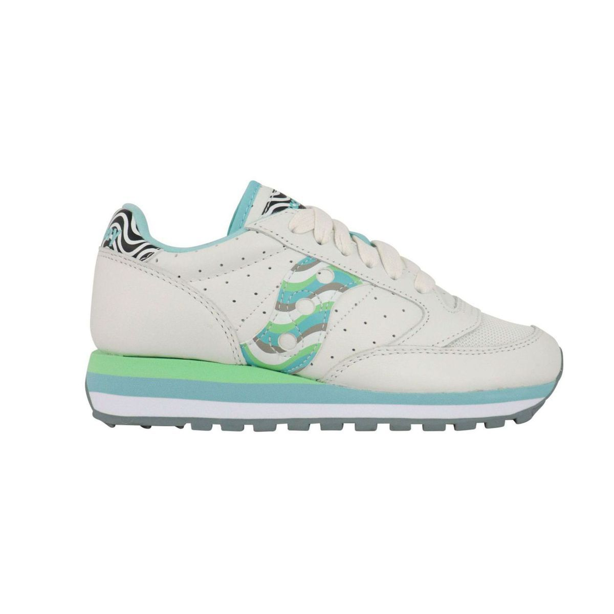Jazz Triple W sneakers in leather White Saucony