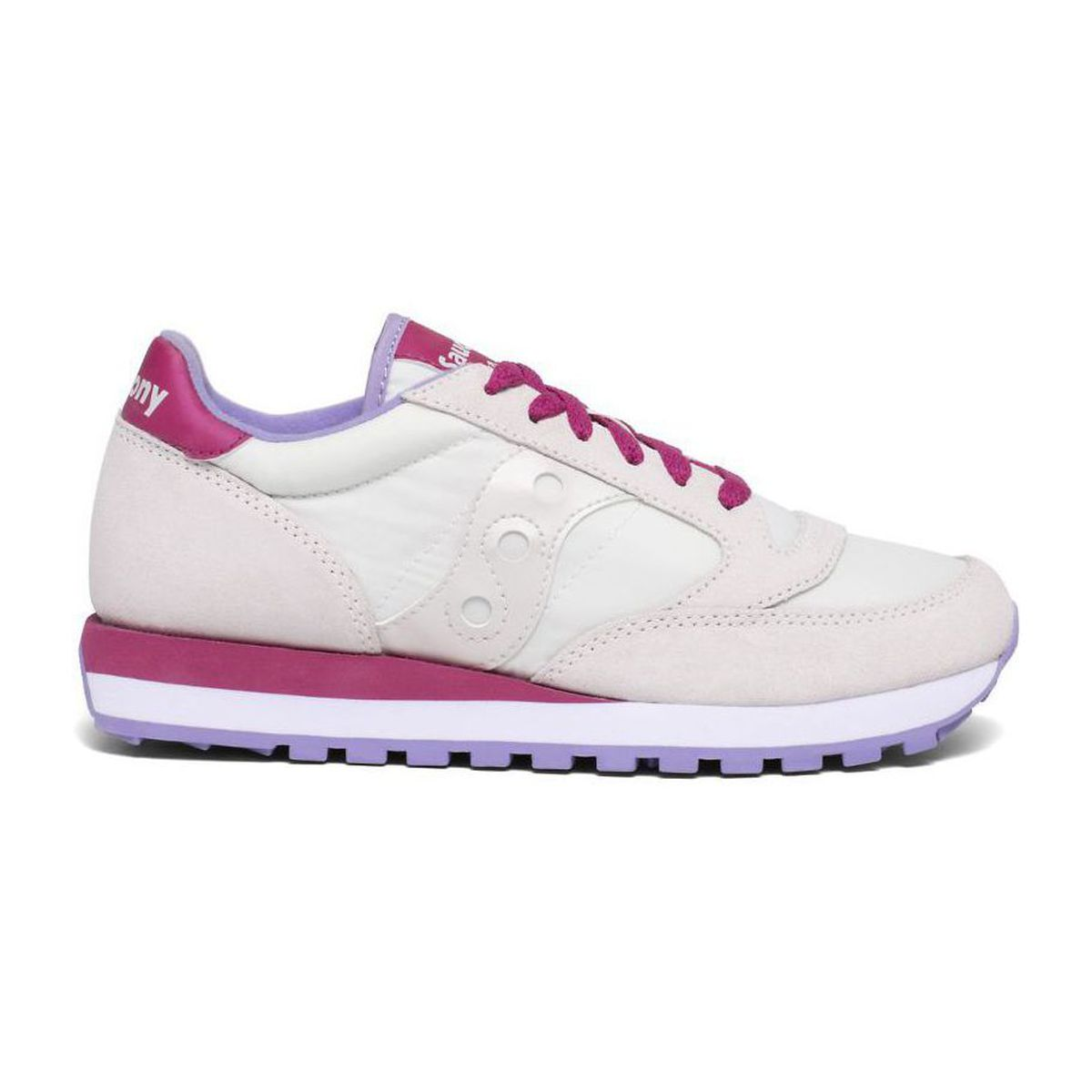 Two-material Jazz sneakers White Saucony