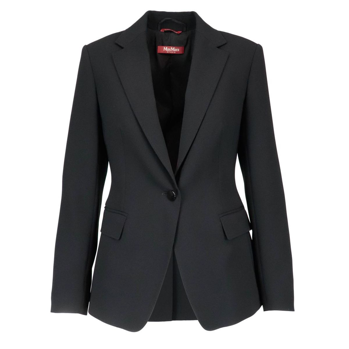 Pappa jacket in triacetate Black MAX MARA STUDIO