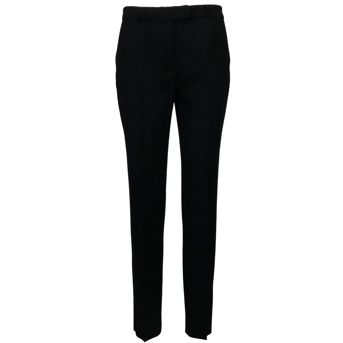 Glenn trousers in triacetate Black MAX MARA STUDIO