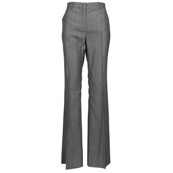 Pamir flared trousers in wool blend Black white MAX MARA STUDIO